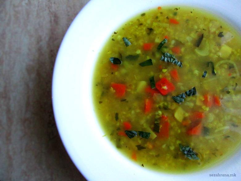 здрава супа