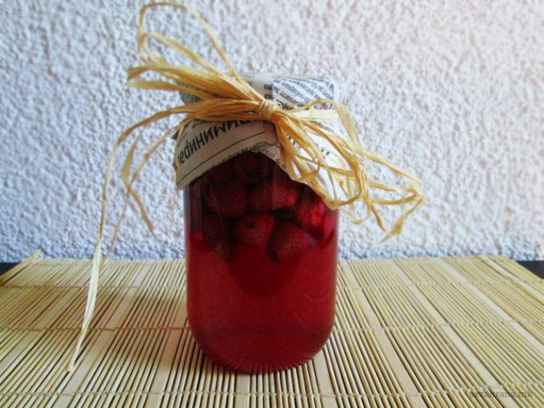 компот од јагоди
