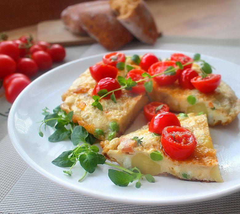 омлет со компири