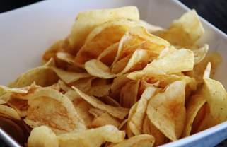 домашен крцкав чипс