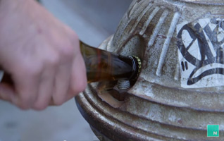 отворање пиво