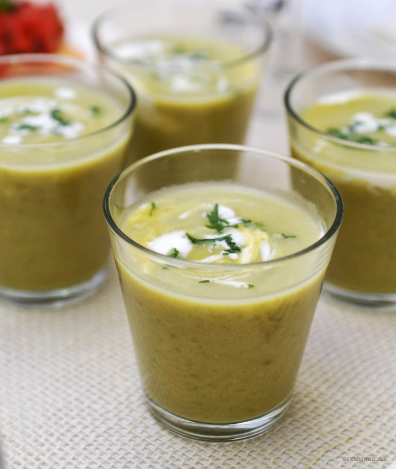 крем супа од грашок