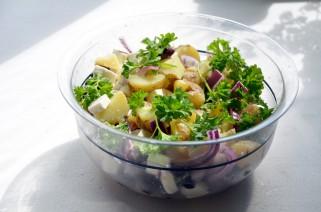 салата со компири