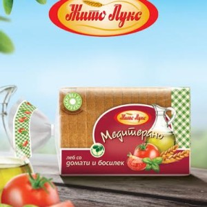 Медитерано со домати и босилек