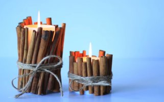 Направете дома украсни миризливи свеќи на многу лесен начин.