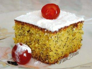 Пченкарен кекс со афион.