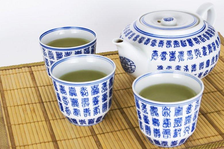 приготвување на зелен чај
