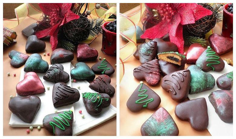 полнети чоколадни срца
