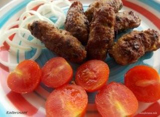 Домашни ќебапчиња со сенф 1