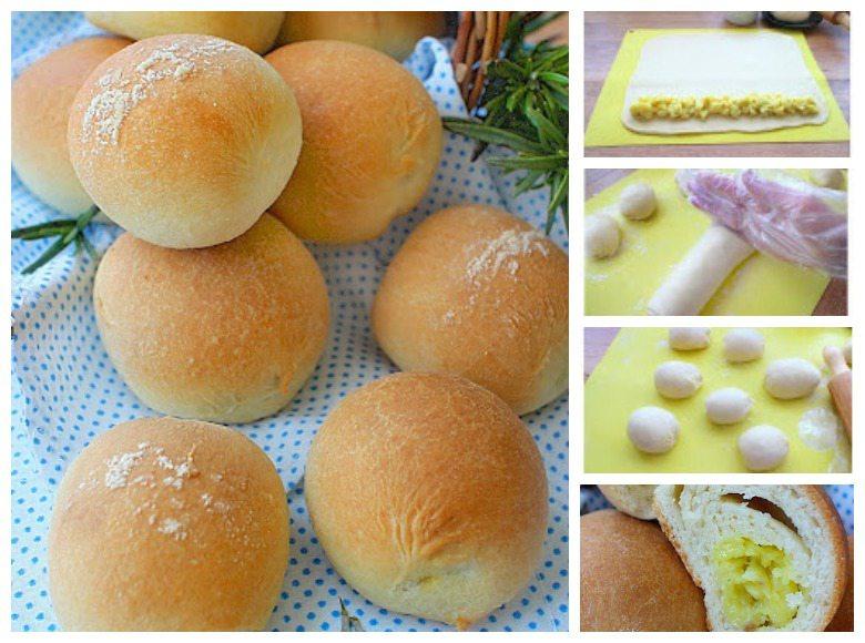 печени посни пирошки со фил од компири
