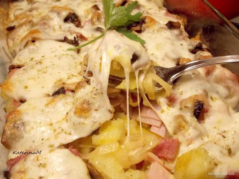 Печени гурмански компири 2