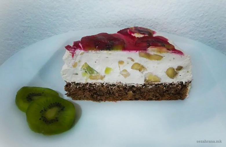 Тропска овошна торта 2