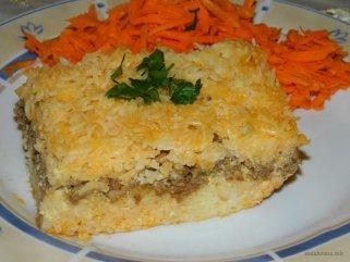 Поинаква мусака од ориз и мелено месо 1
