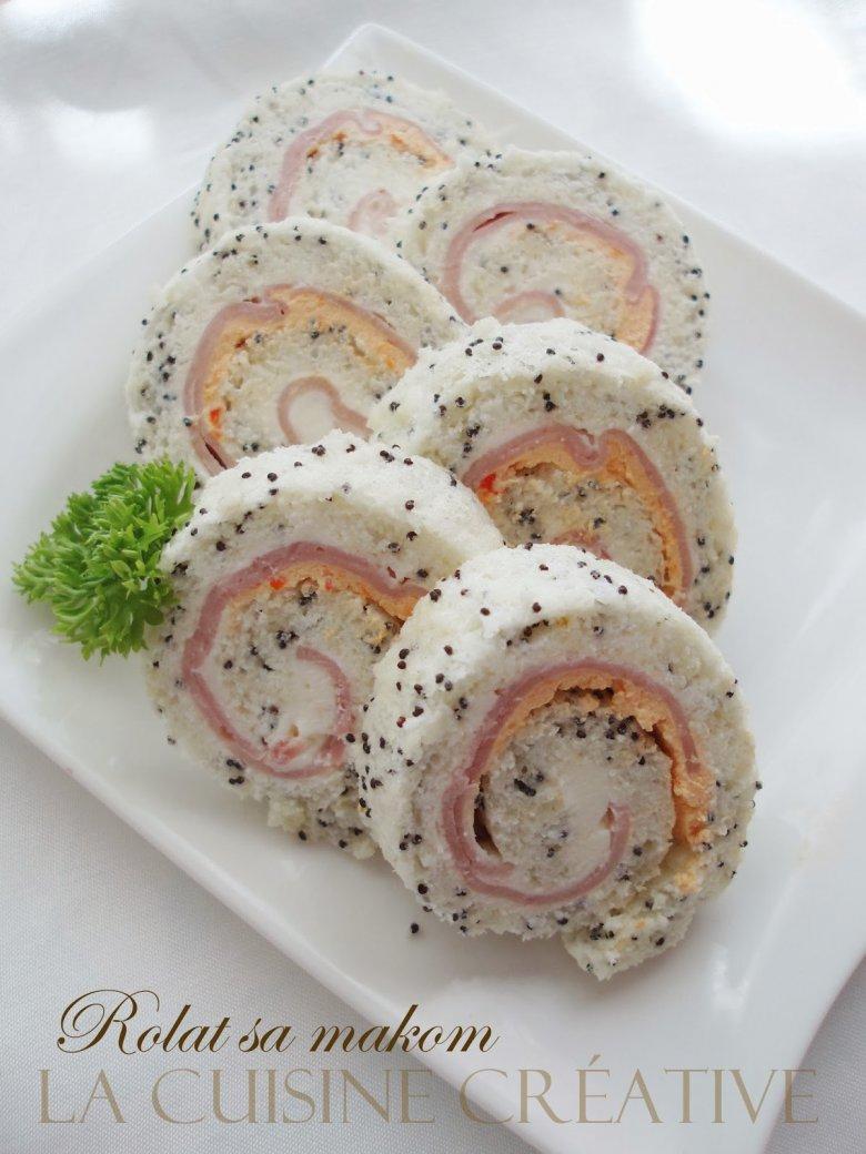 солен ролат со мак (афионово семе) 2