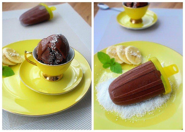 здрав чоколаден сладолед