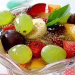 Чиа овошна салата 1