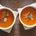 крем супа од домати и босилек