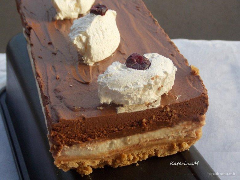Кремаст чоколаден колач без печење 2