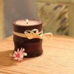 Направете сами свеќа против комарци 1