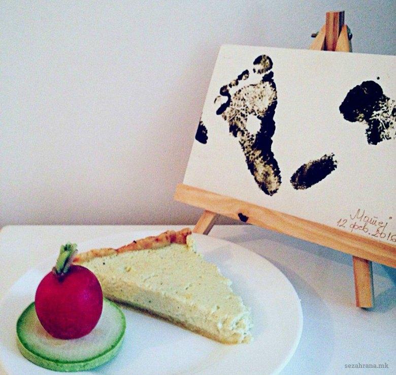 Солен тарт со фил од тиквички 2