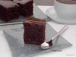Чоколадни коцки со кикиритки 1