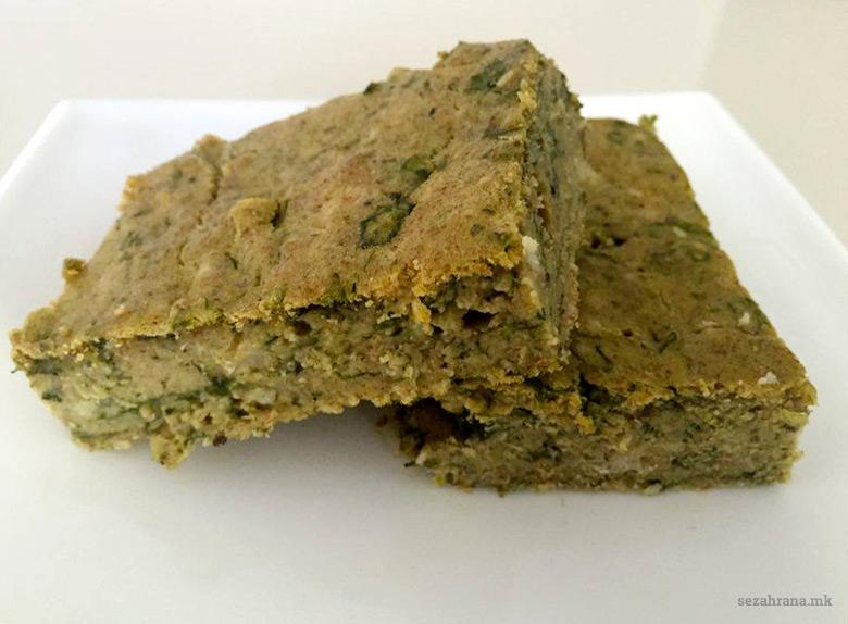 Хроно леб со спанаќ, сирење и семиња 2