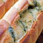 печен леб со кашкавал и зачини