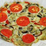 фритата со зеленчук