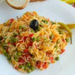 Посна манџа со фиде и зеленчук 1