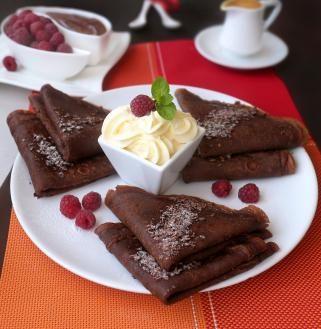 чоколадни палачинки со рум