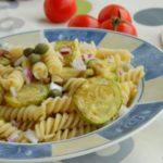 Тестенини со тиквички и туна 1