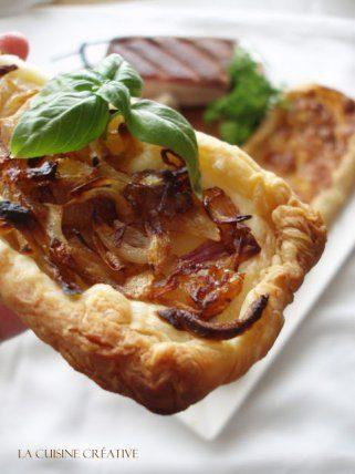 Пица од лиснато тесто - тарт 1