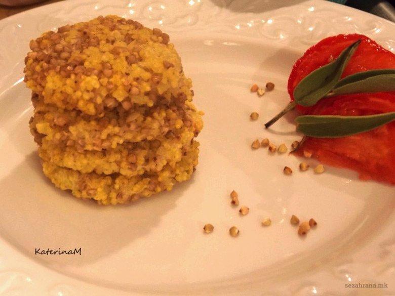 Вегетаријански ќофтиња од хељда, просо и компир 2