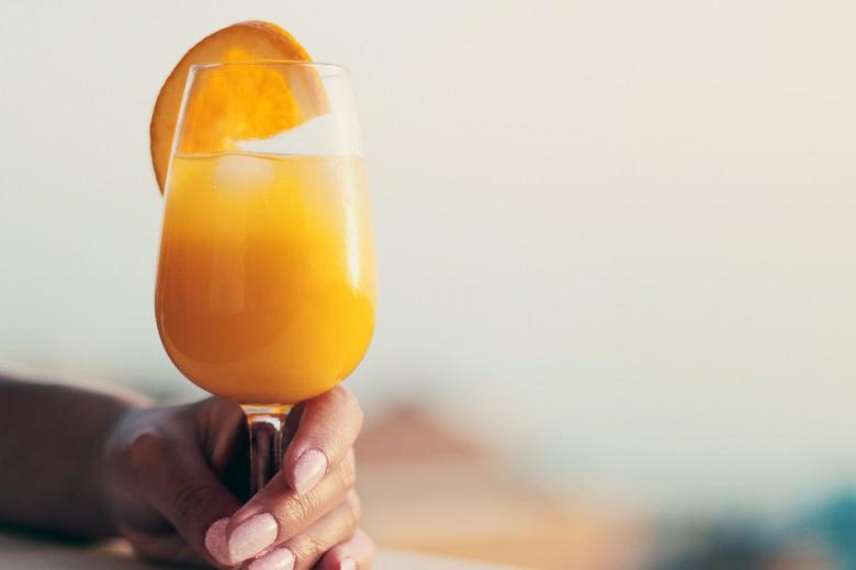 домашен сок од портокал