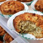 Овесни мафини со јаболка без брашно 1