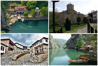 Прошетка до Марков манастир, Македонското село и Матка 1