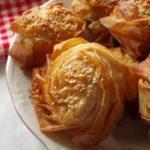 Турски пити од тенки кори со фил од спанаќ и сирење 1