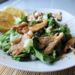 свежа салата со печурки