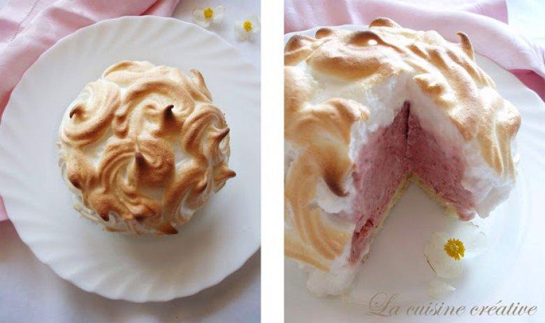 Кремаст домашен сладолед Алјаска - со бисквитна подлога 2
