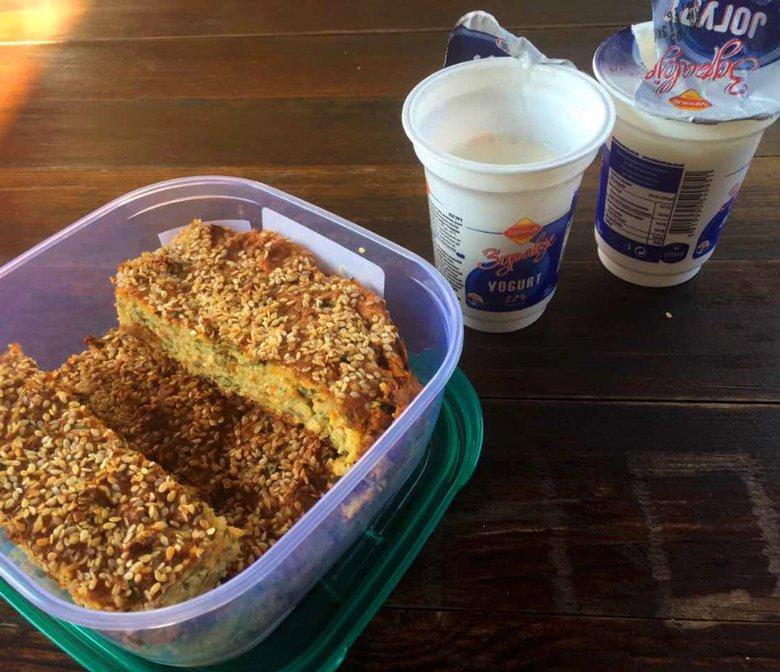 Безглутенска солена торта со урда и спанаќ