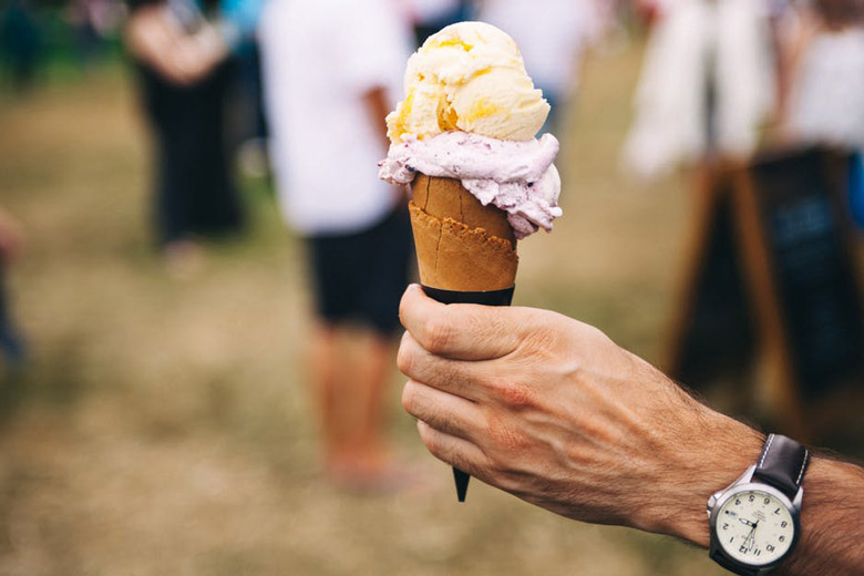 сладолед од кајсии