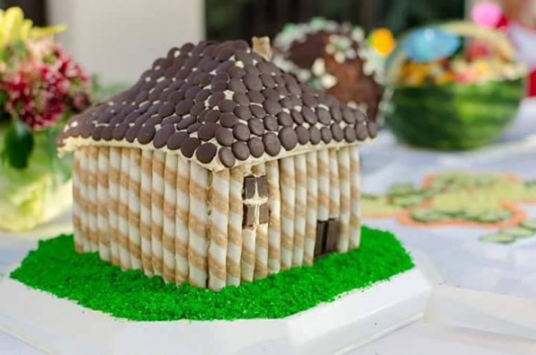torta za kreativna rabotilnica