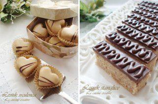 Визитарски колачи - лешник штанглички и срца 1
