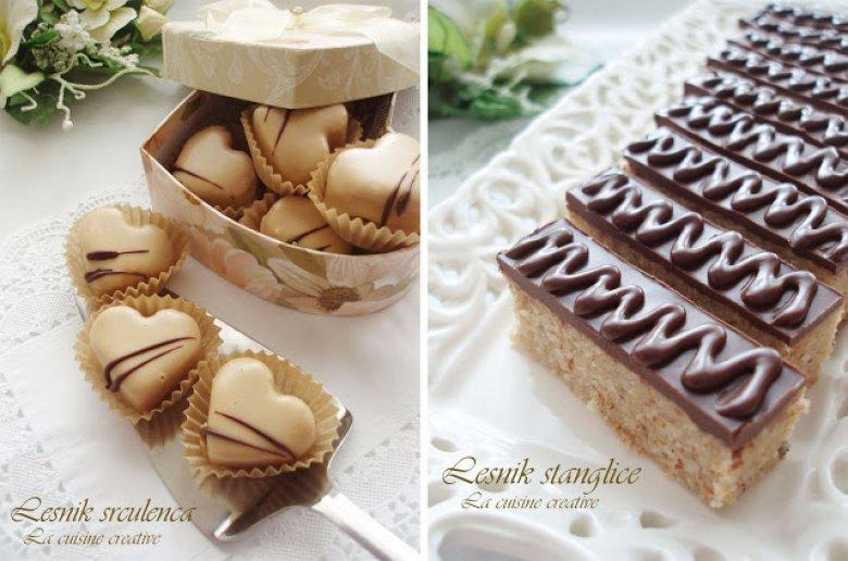 Визитарски колачи - лешник штанглички и срца 2