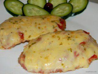 Пилешки стек со пица вкус 1