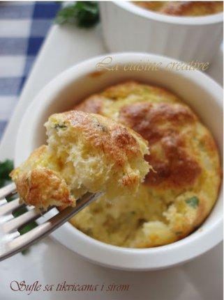 Суфле од тиквички и сирење 1