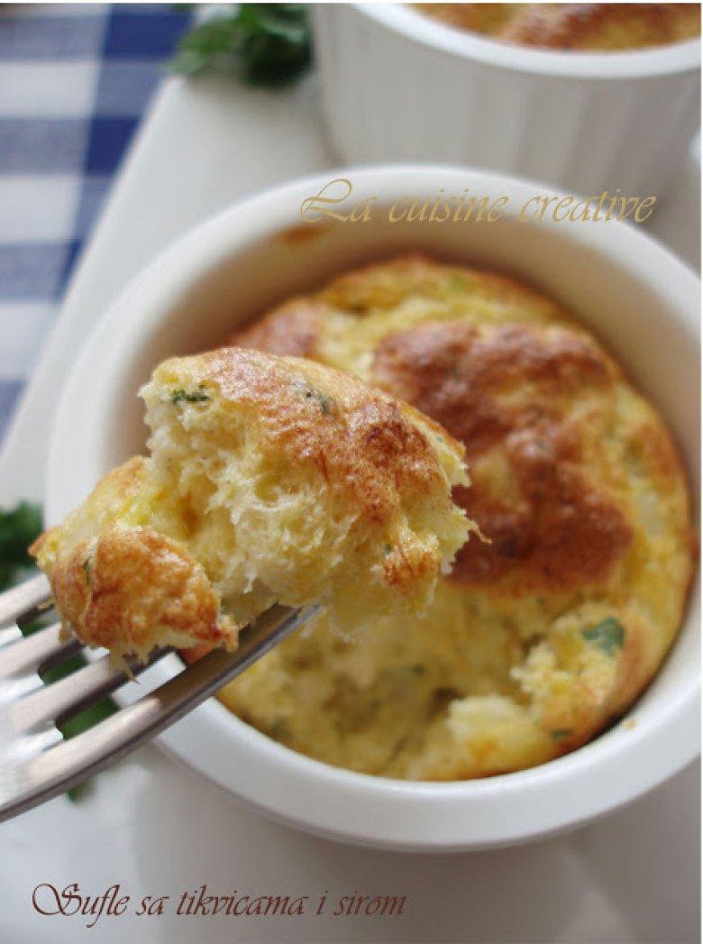 Суфле од тиквички и сирење 2