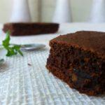 Чоколадна торта со ржано брашно без шеќер 1