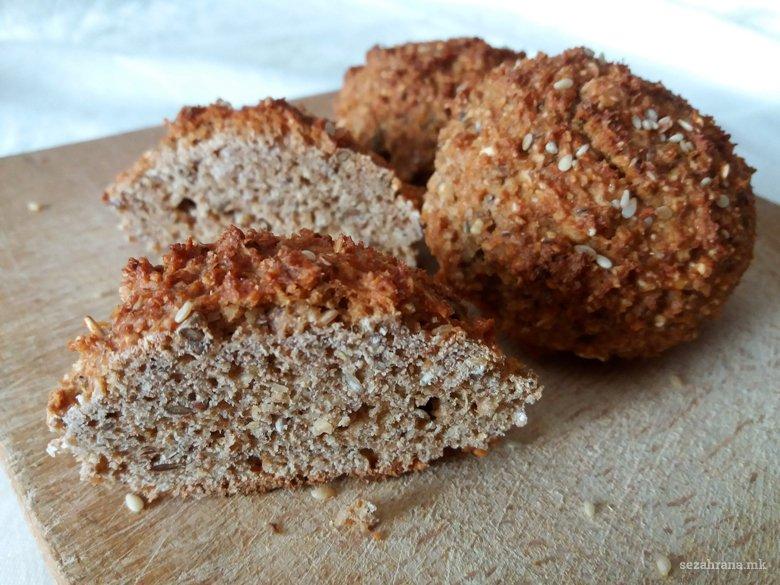 Домашни лепчиња од овес и ржано брашно 2