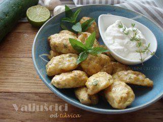 Печени уштипци од тиквичка и сирење 1